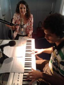 tocando en radio telam