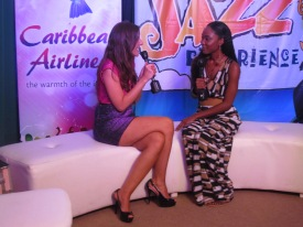 TV Interview after playing at the Tobago Jazz Experience 2012