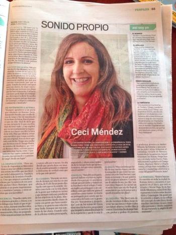 Entrevista Revista Nosotros Diario El Litoral 15-11-14