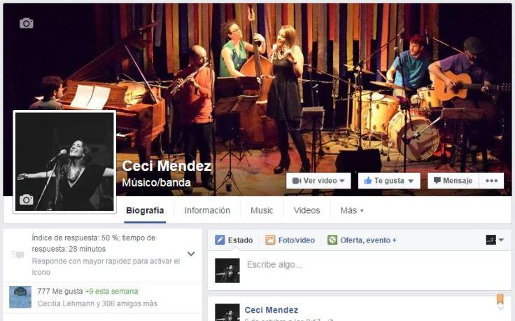 Fan page Ceci Mendez 777